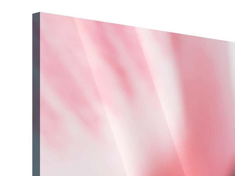 Acrylglasbild 3-teilig modern Der Lilienstempel