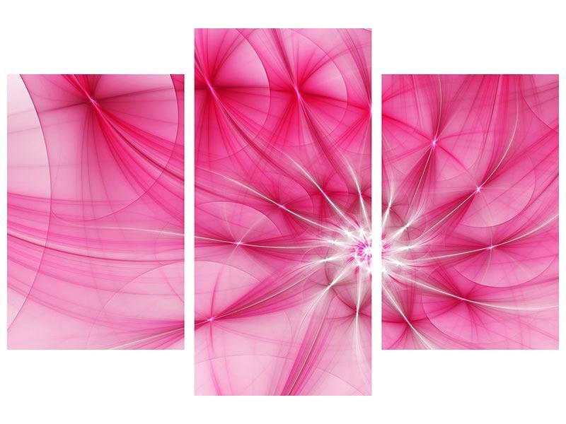 Acrylglasbild 3-teilig modern Abstrakt Daylight