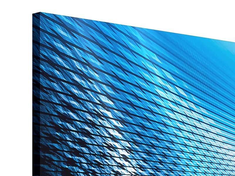 Acrylglasbild 3-teilig modern Laser