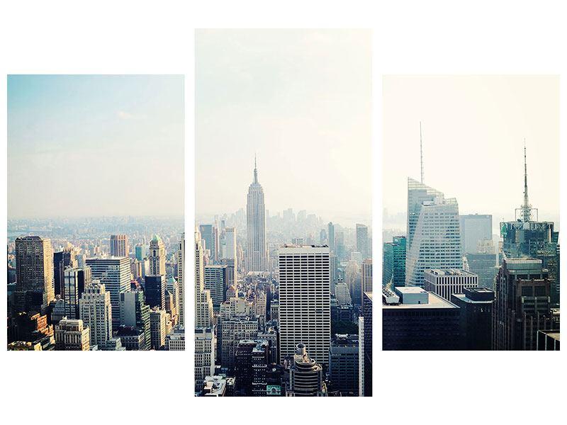 Acrylglasbild 3-teilig modern NYC