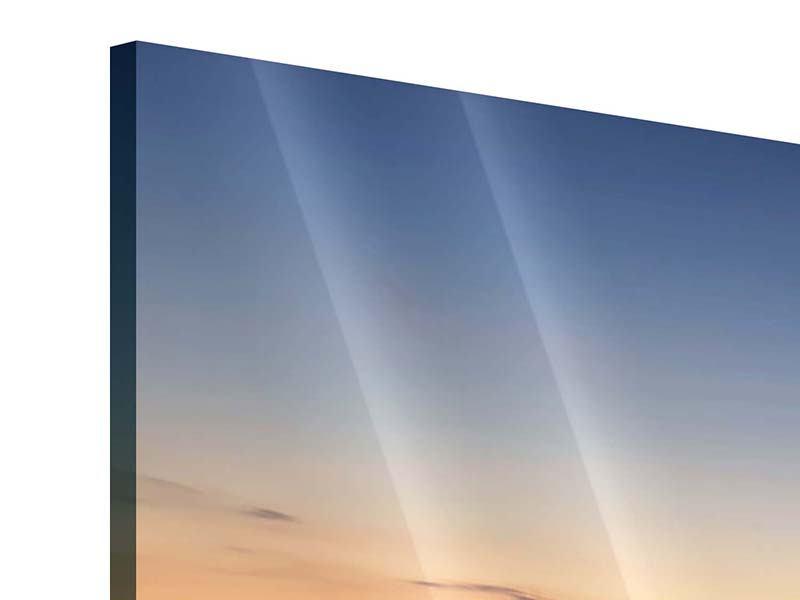 Acrylglasbild 3-teilig modern Der Steg
