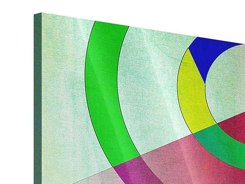 Acrylglasbild 3-teilig modern Wandkunst