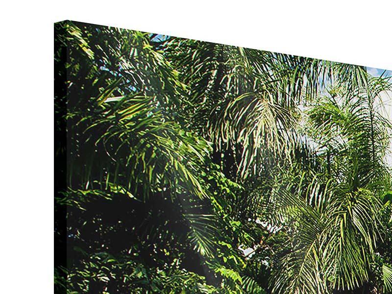 Acrylglasbild 3-teilig modern Lagune