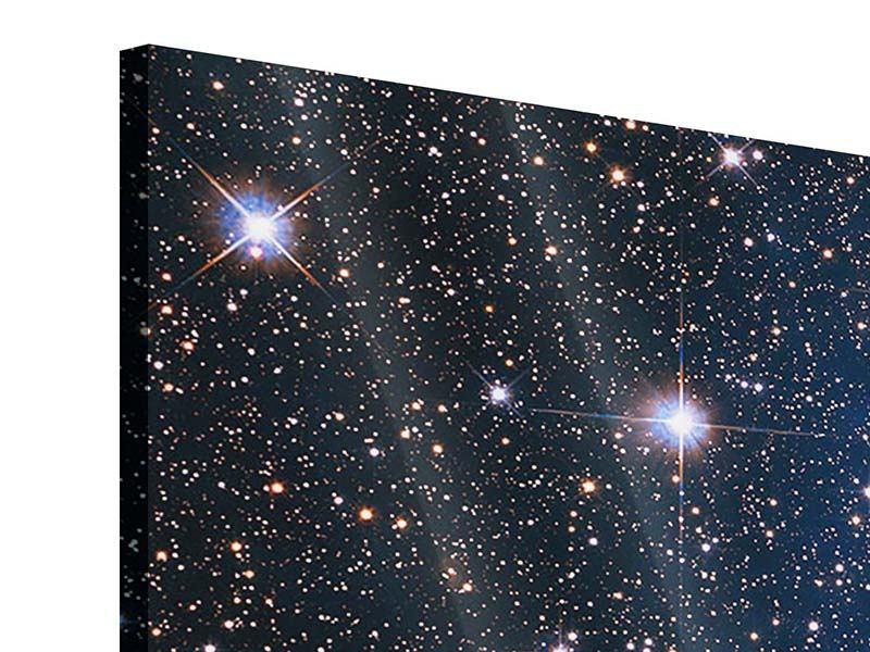 Acrylglasbild 3-teilig modern Sternenhimmel