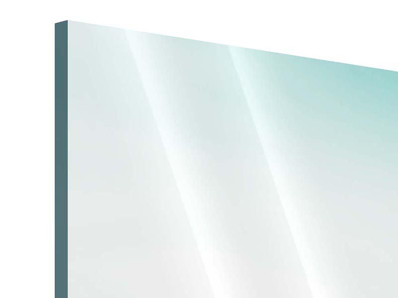 Acrylglasbild 3-teilig modern Das Wattenmeer