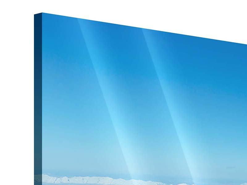 Acrylglasbild 3-teilig modern Über den Wolken