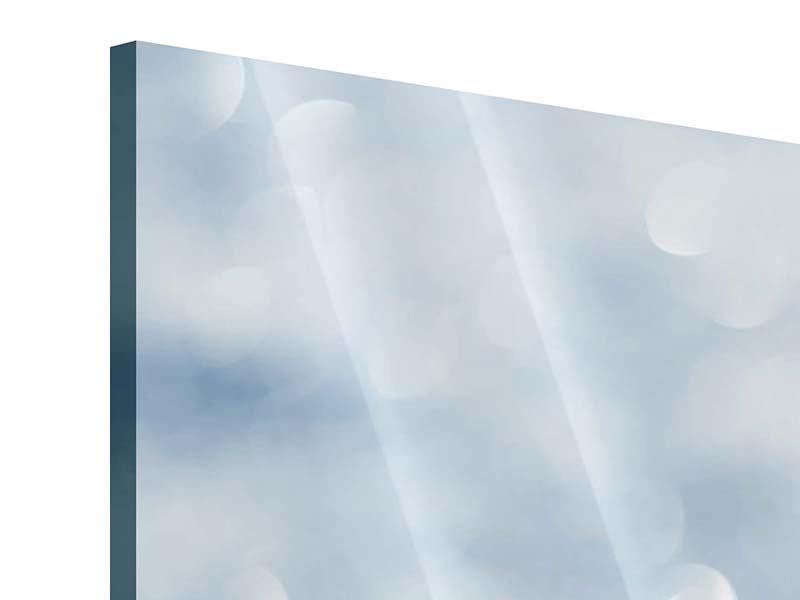 Acrylglasbild 3-teilig modern Kristallglanz