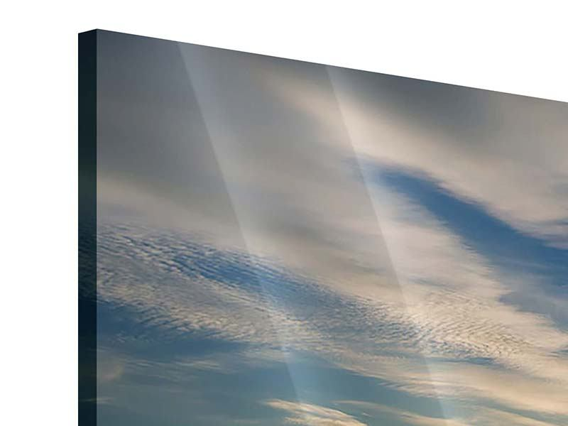 Acrylglasbild 3-teilig modern Meerwasser