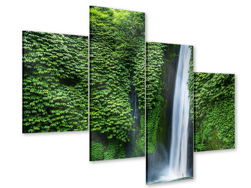 Acrylglasbild 4-teilig modern Lebensquelle