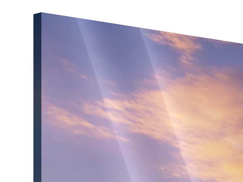 Acrylglasbild 4-teilig modern Himmlisch