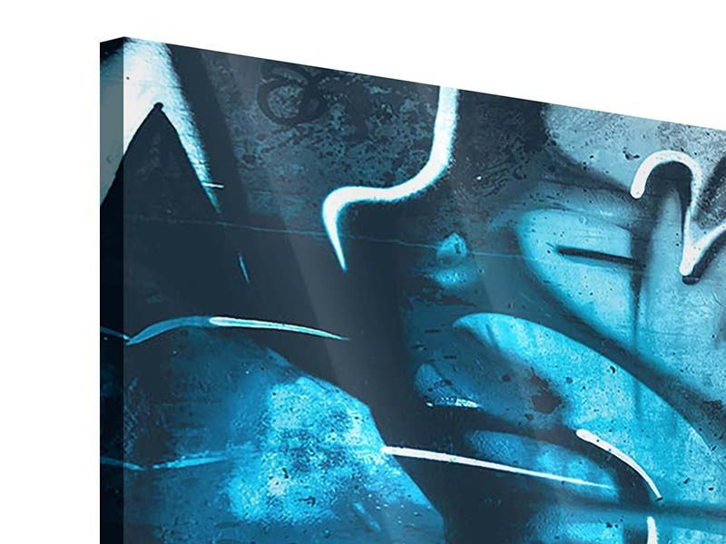 Acrylglasbild 4-teilig modern Painting On The Wall