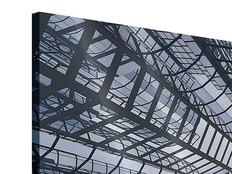 Acrylglasbild 4-teilig modern Besondere Perspektive