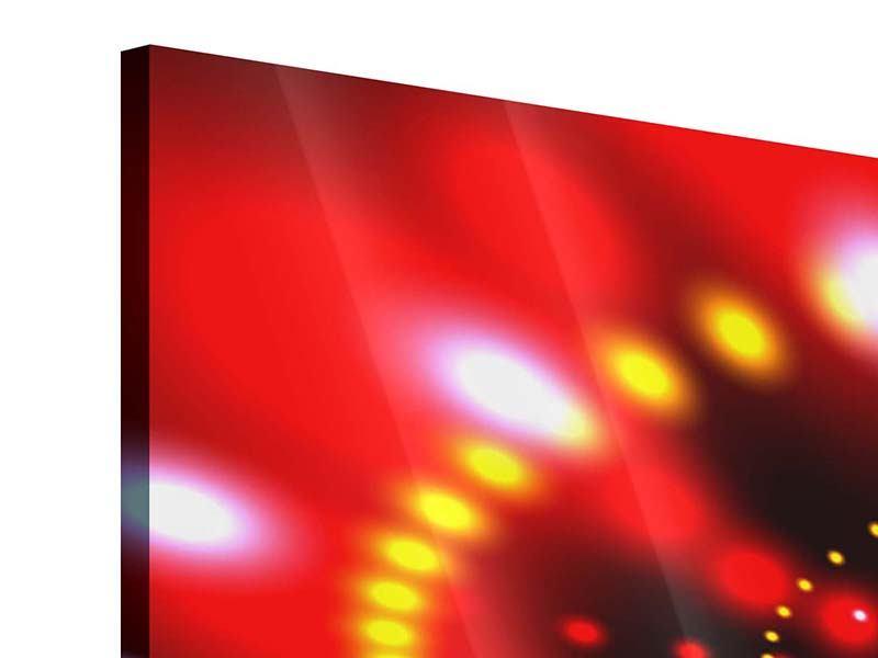 Acrylglasbild 4-teilig modern Abstraktes Lichtspiel