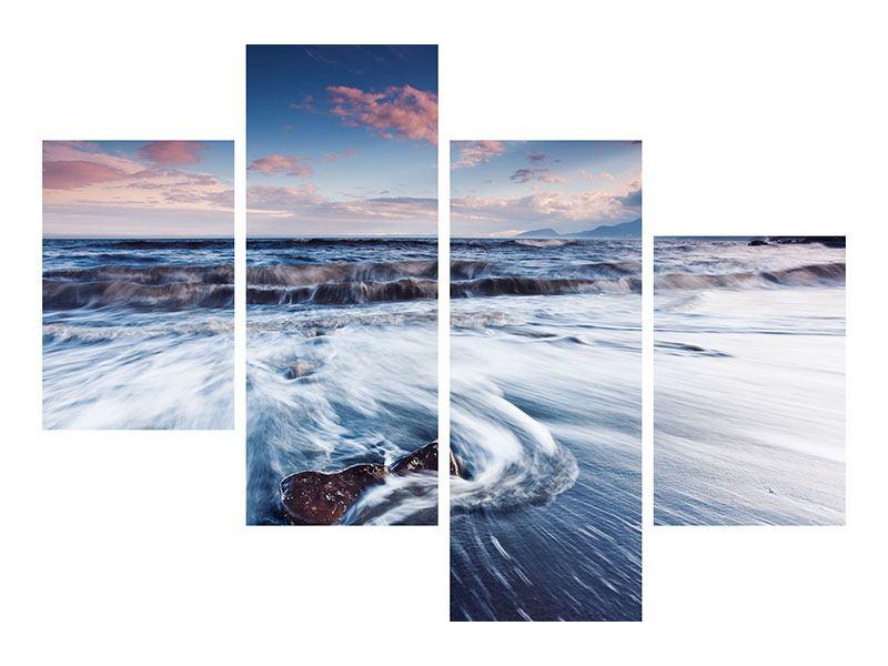 Acrylglasbild 4-teilig modern Ort der Sehnsucht