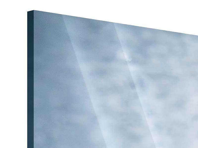 Acrylglasbild 4-teilig modern Wasserdynamik