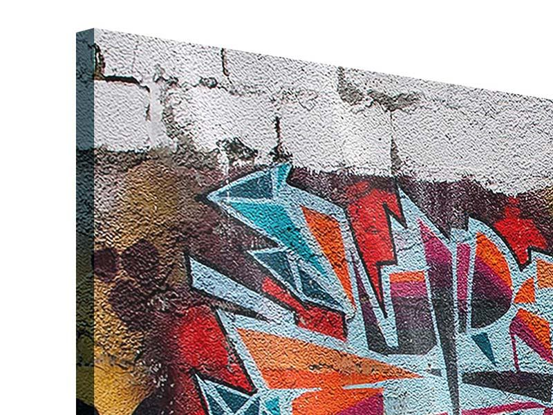 Acrylglasbild 4-teilig modern New York Graffiti