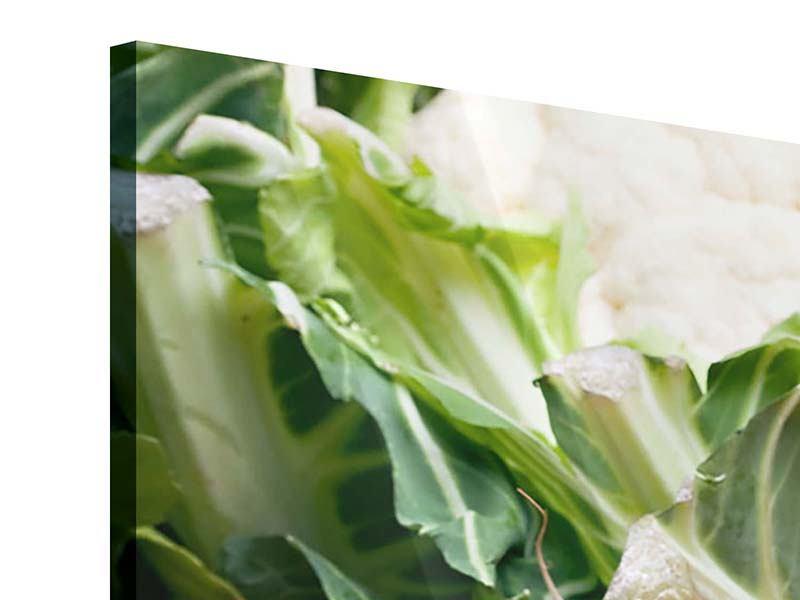 Acrylglasbild 4-teilig modern Gemüse