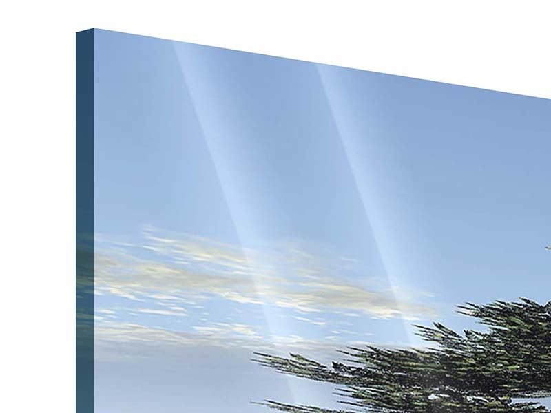 Acrylglasbild 4-teilig modern Naturfaszination