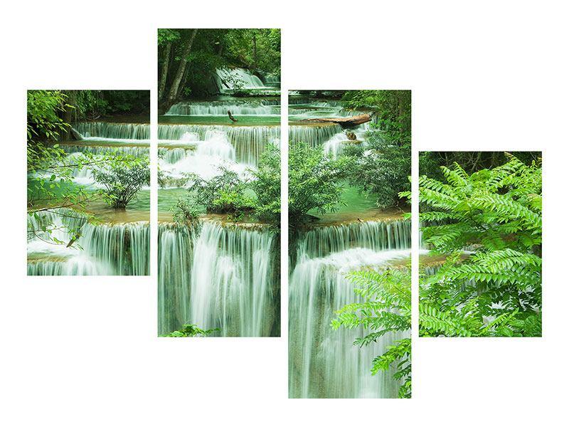 Acrylglasbild 4-teilig modern 7 Stufen in Thailand