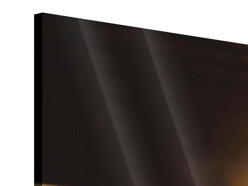 Acrylglasbild 4-teilig modern Kaffeepause