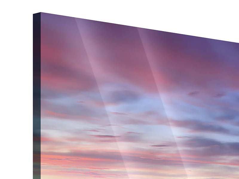 Acrylglasbild 4-teilig modern Ano Manao Bucht