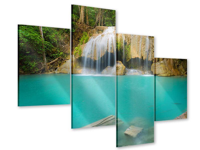 Acrylglasbild 4-teilig modern Frische Brise
