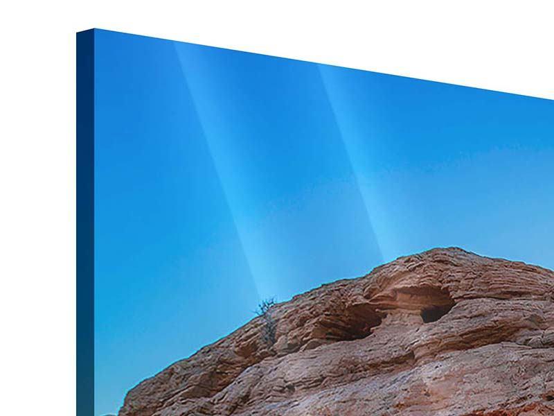 Acrylglasbild 4-teilig modern Sonnenuntergang am Mesa Arch