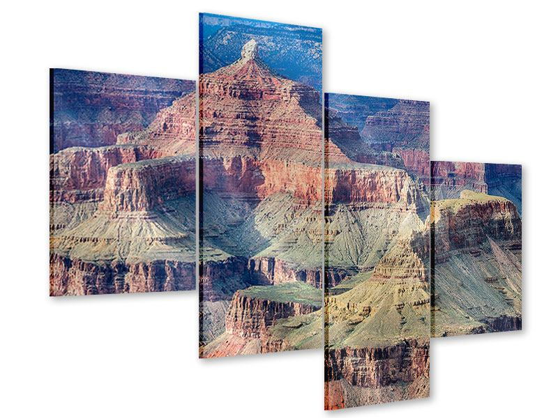 Acrylglasbild 4-teilig modern Gran Canyon
