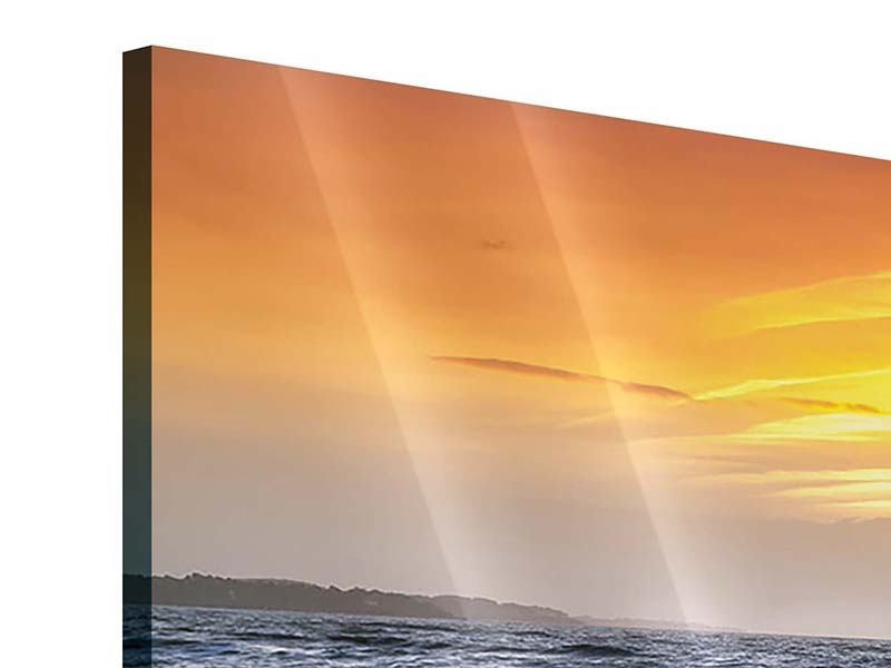 Acrylglasbild 4-teilig modern Das Meer