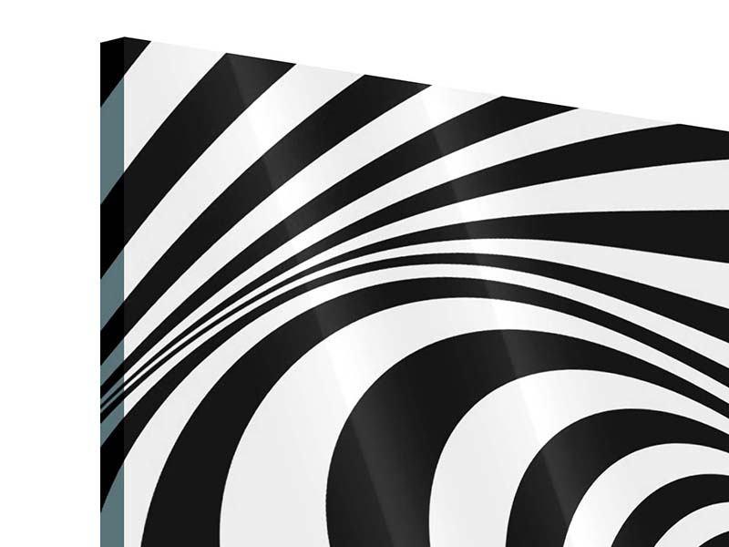Acrylglasbild 4-teilig Abstrakte Wandbewegung