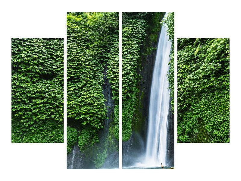 Acrylglasbild 4-teilig Lebensquelle