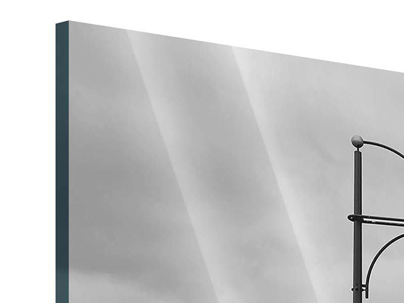 Acrylglasbild 4-teilig Poetische Brücke