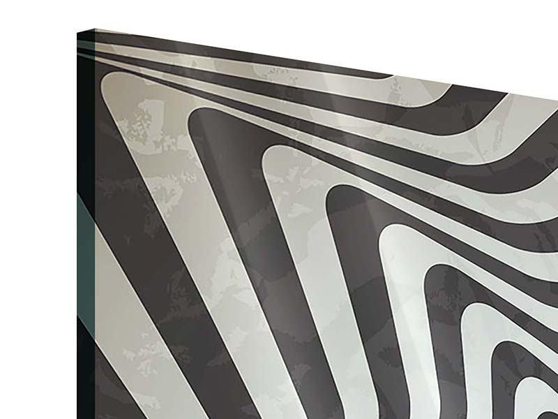 Acrylglasbild 4-teilig Abstrakte Bewegungen