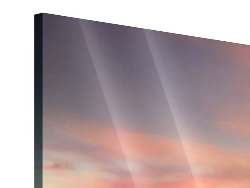 Acrylglasbild 4-teilig Paradiesische Brücke