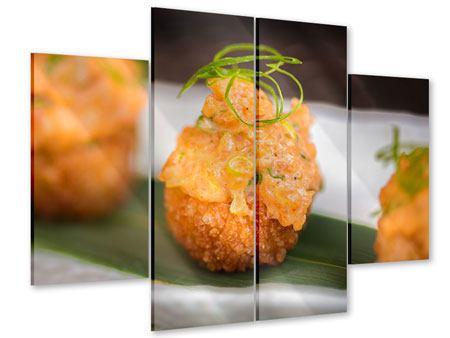 Acrylglasbild 4-teilig Asiatische Küche