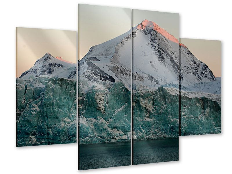 Acrylglasbild 4-teilig Die Antarktis
