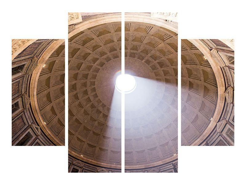 Acrylglasbild 4-teilig Petersdom