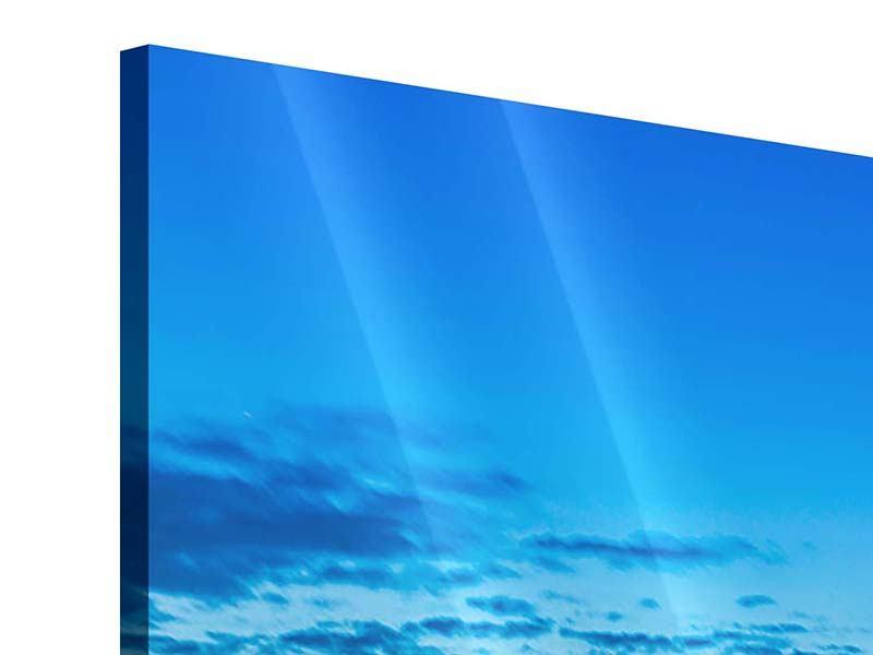 Acrylglasbild 4-teilig Skyline Ein Penthouse in Köln