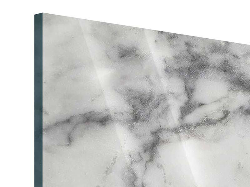 Acrylglasbild 4-teilig Klassischer Marmor