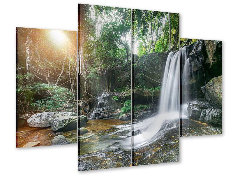 Acrylglasbild 4-teilig Naturschauspiel