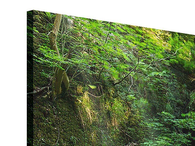 Acrylglasbild 4-teilig Fallendes Wasser