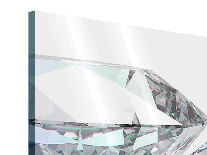 Acrylglasbild 4-teilig XXL Diamant