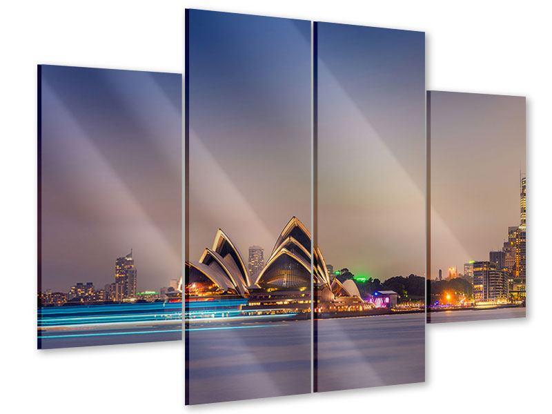 Acrylglasbild 4-teilig Opera House