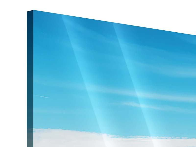 Acrylglasbild 4-teilig Alpenpanorama