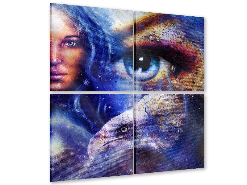 Acrylglasbild 4-teilig Eyecatcher