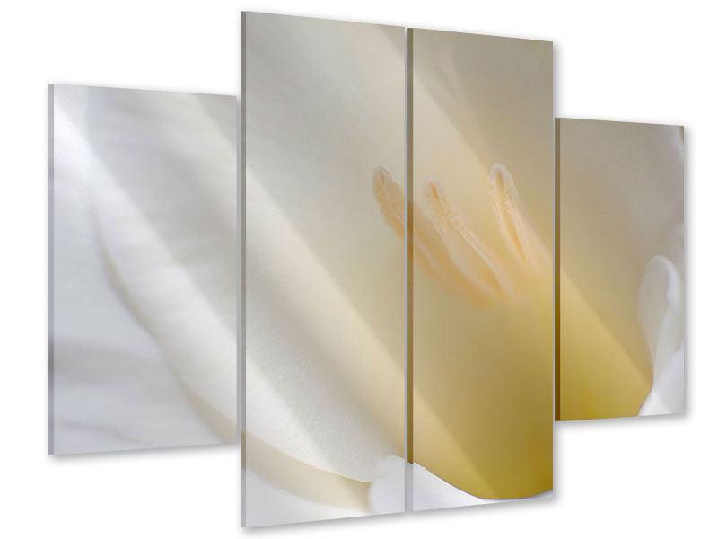 Acrylglasbild 4-teilig In einer Blüte