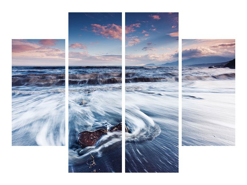 Acrylglasbild 4-teilig Ort der Sehnsucht