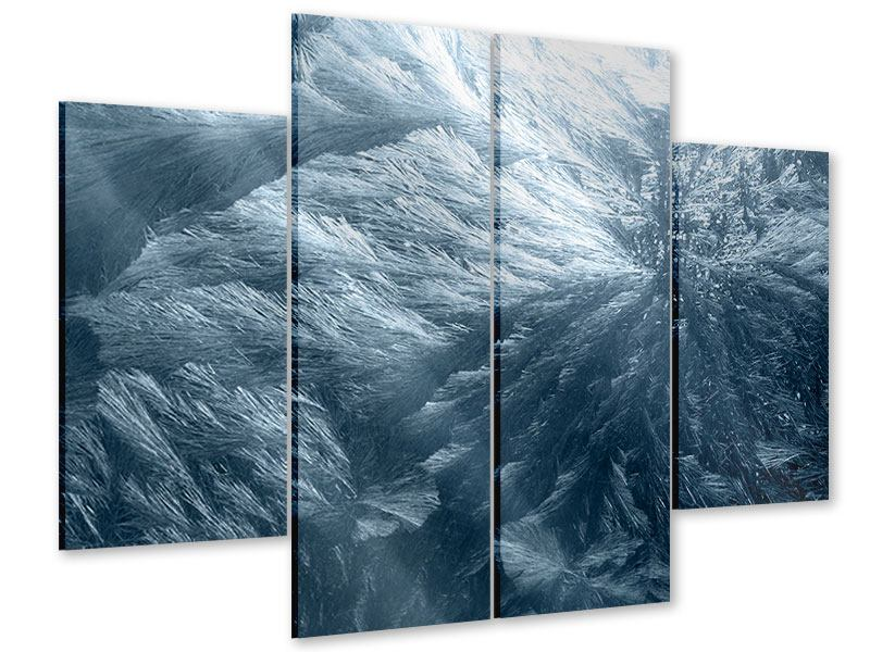 Acrylglasbild 4-teilig Eis