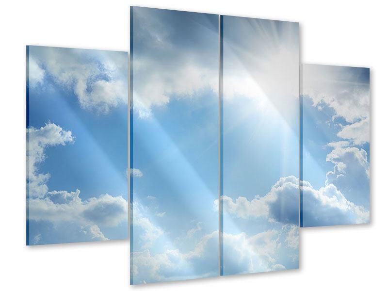 Acrylglasbild 4-teilig Himmelshoffnung
