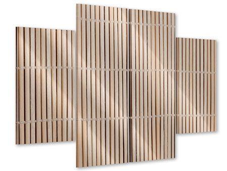 Acrylglasbild 4-teilig Lucky Bamboo